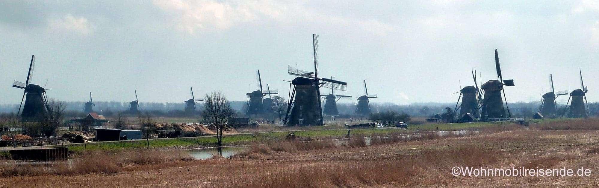 Unesco Weltkulturerbe Winterdijk, NL