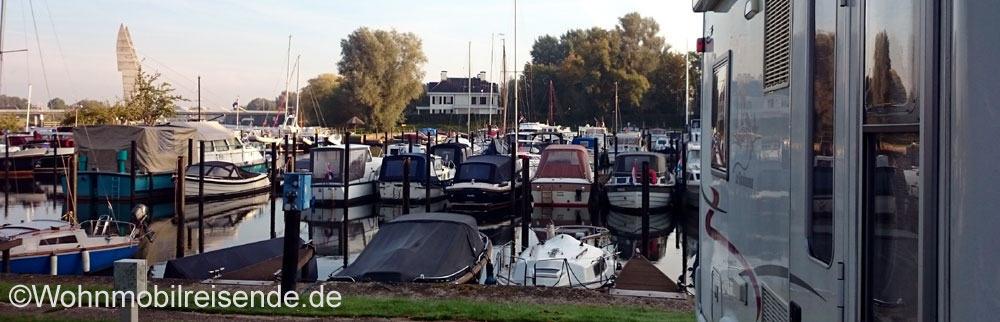 Wohnmobilstellplatz Zwolle Jachthafen